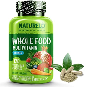 Best Multivitamin For Men >> Amazon Com Naturelo Whole Food Multivitamin For Men With Natural