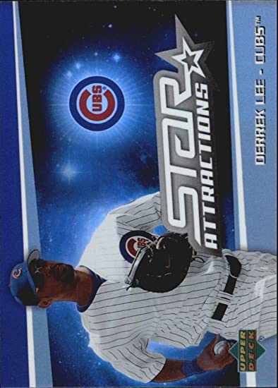 2006 Upper Deck Special F/X Star Attractions #DL Derrek Lee at Amazons Sports Collectibles Store