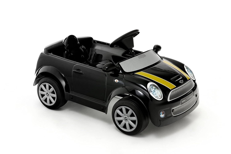 CAVALCABILE El.6V TToys-Auto Mini Cooper S Nera