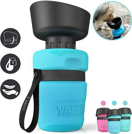 Lesotc Pet Water Bottle for Dogs