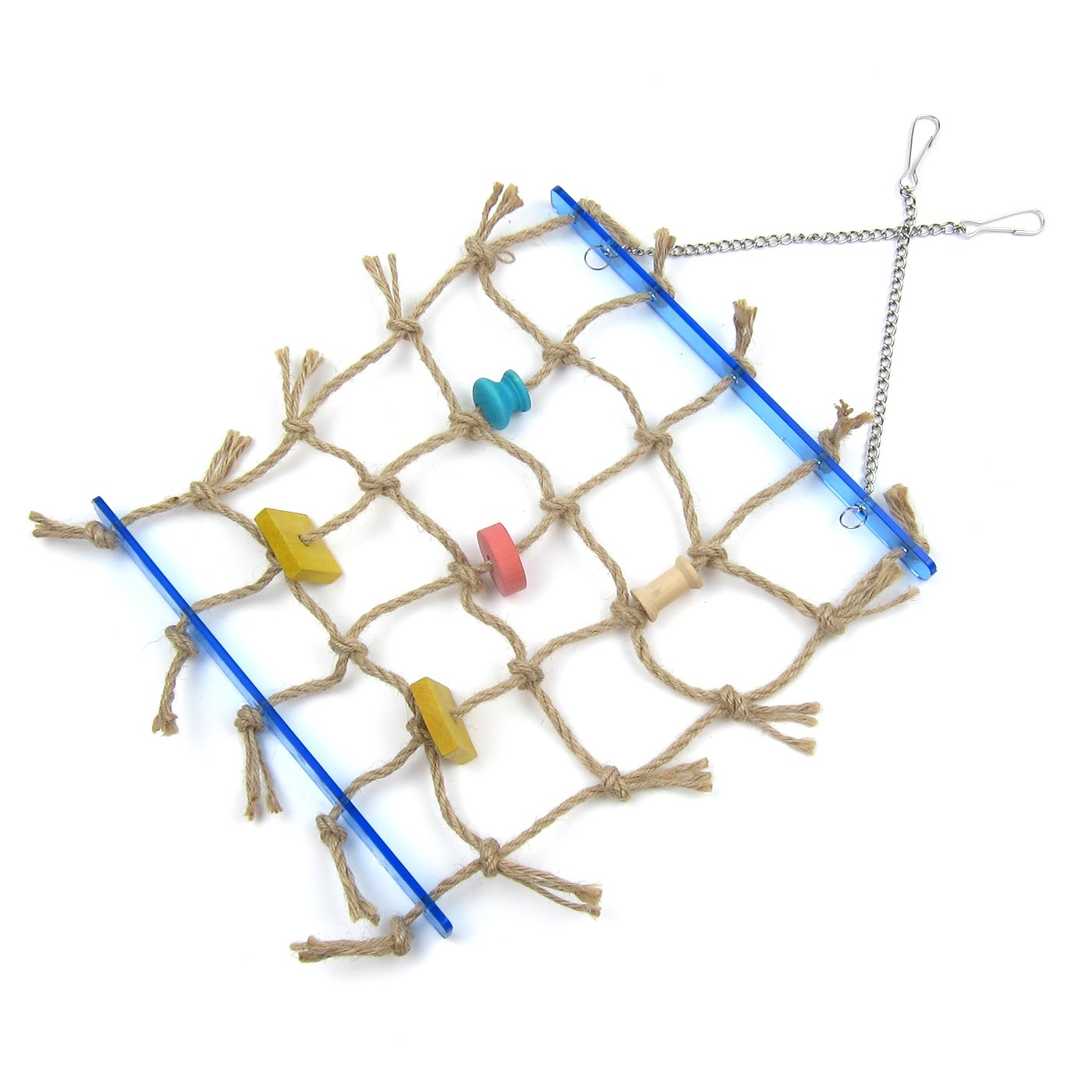 Alfie Pet by Petoga Couture - Kaelin Hanging Rope Ladder Toy for Birds by Alfie (Image #8)