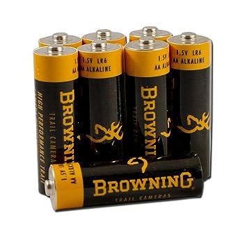 Amazon.com : Browning Trail Camera AA Alkaline Batteries : Hunting ...
