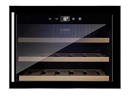 Mini Kühlschrank Für Wein : Caso winesafe eb design einbauweinkühlschrank für bis zu