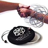 TOROIDZ - Amazing Magic Science Toy - WOW FACTOR! - Interactive Museum - ARM SPRING - Fun Festival Stuff - Circus Trick - Physics Labs - All Ages - Kidz, Teen, Adult - Ultimate Gift