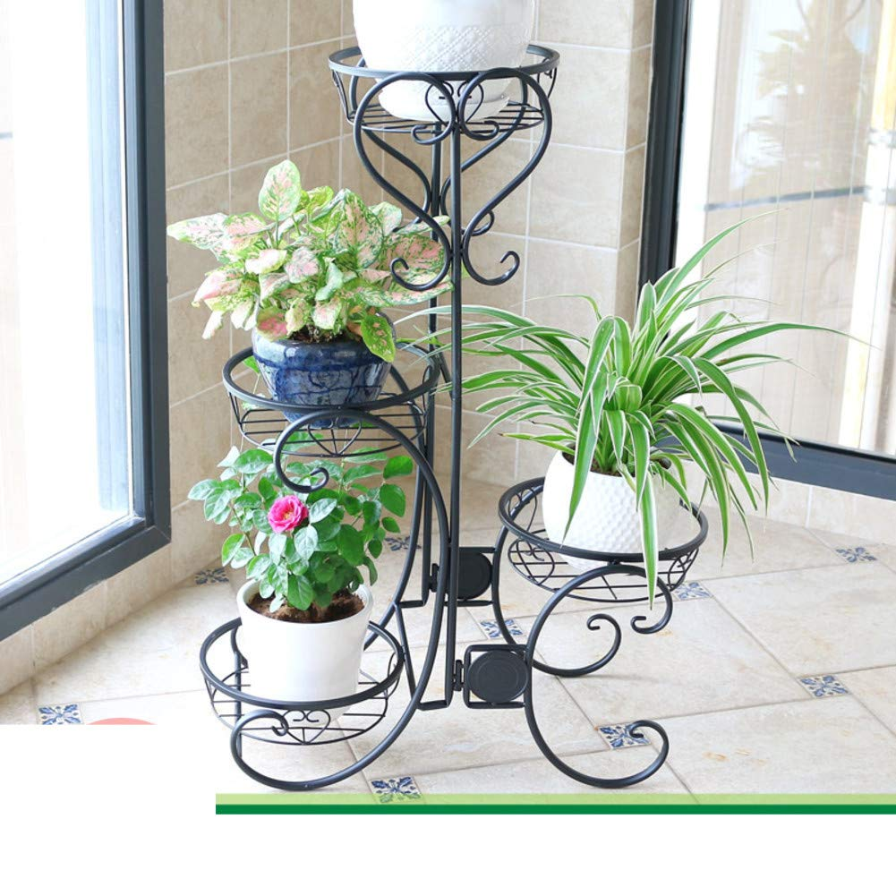 Household Multi-Layer Flower Stand,Decorative Plant Flower Stand-K