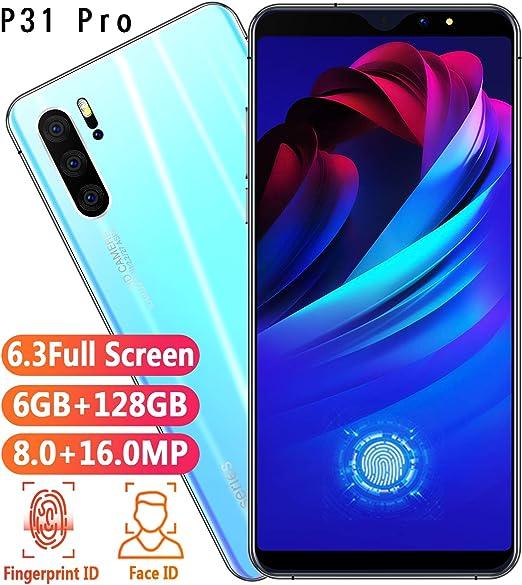 YXYNB Teléfonos Móviles, Lite 128 GB 6,3 Pulgadas FHD + Smartphone ...