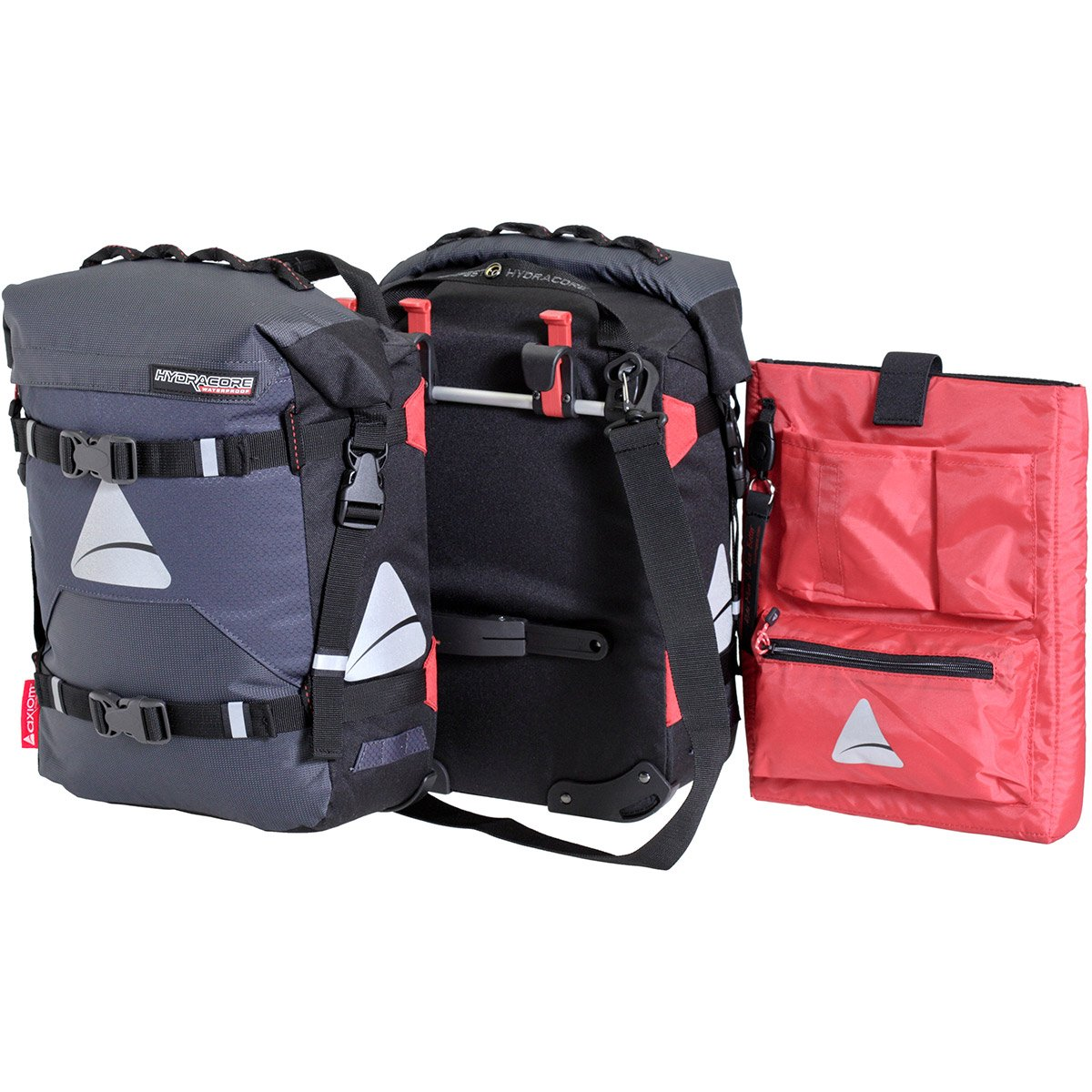 Axiom Tempest Hydracore P35 Plus Panniers: Gray by Axiom (Image #1)