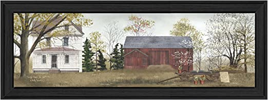 Billy Jacobs Spring Flowers For Sale Country Print 18x6