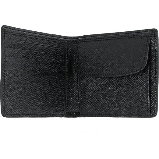 4452ac36293fa Hugo BOSS Herren Geldbörse Brieftasche Kartenetui Portemonnaie in schwarz   Amazon.de  Koffer