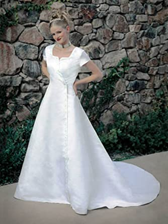 Eternity by Millennial Sun #7701 White Size 12 Bridal Gown LDS ...