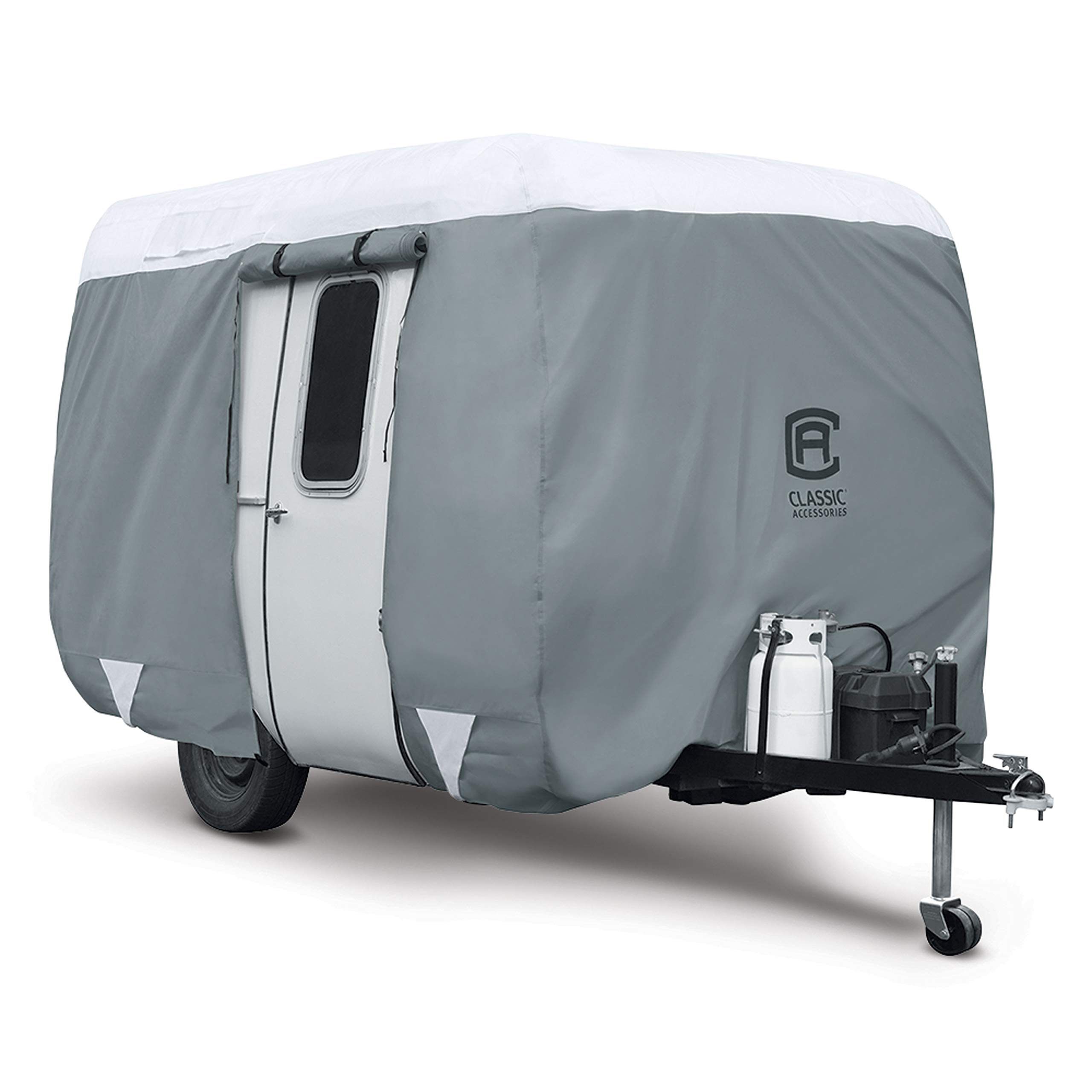 Classic Accessories PolyPro 3 Molded Fiberglass Camping Trailer Cover, 13'1''-16' Long by Classic Accessories
