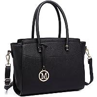 Miss Lulu Women Winged Shape Handbags Ladies Fashion PU Leather Large Shoulder Bags Female Tote Girls Cross Body Bag