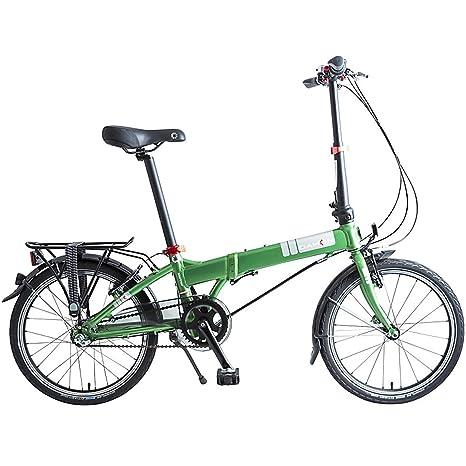 Dahon Bici Pieghevole Prezzo.Dahon Mariner I3 Bicicletta Pieghevole Unisex Adulto Verde 20