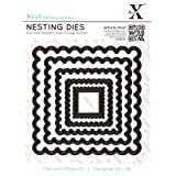 Docrafts Nesting Dies, Scalloped Square (Pack of 5)