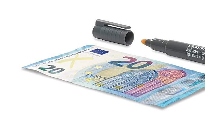 "blau//grau Safescan Falschgeld-Prüfstift /""Safescan 30/"""