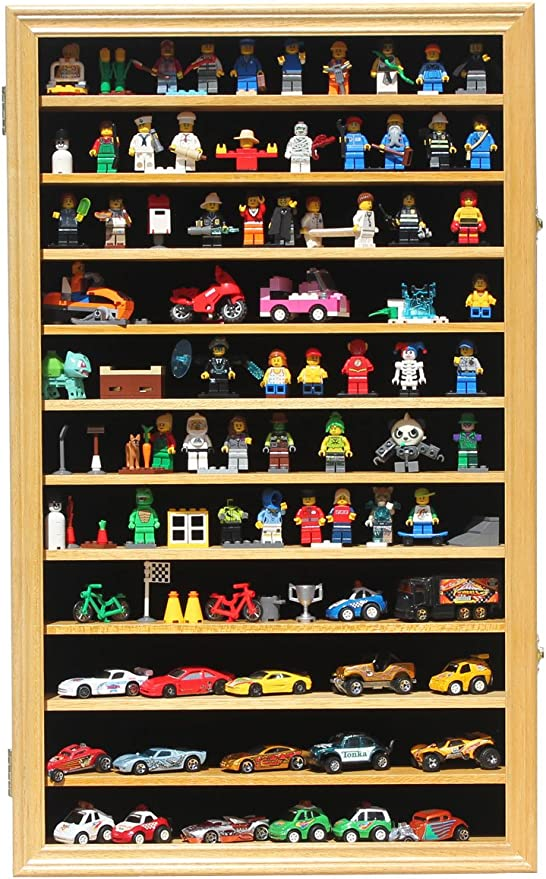 hot wheels, matchbox 160N3C-2 Display case cabinet for 1//64 diecast scale cars