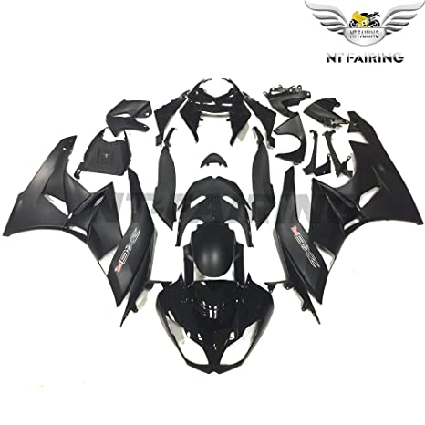 NT FAIRING Fit for Kawasaki Ninja ZX6R 636 2009 2010 2011 2012 Matte&Glossy Black Injection Molded Fairings Kit Body Kit Bodywork Plastic Bodyframe