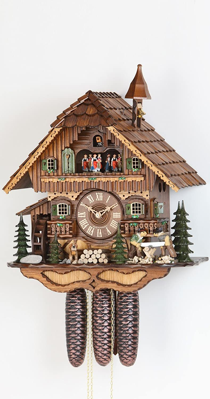 Authentic black forest cuckoo clock by Hekas German Cuckoo Clock 8 ...