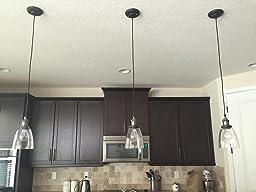 edison mini glass 1 light pendant hanging lamp fixture