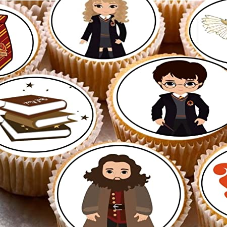 24 figuras de Harry Potter para decoración de tartas de 4 cm ...