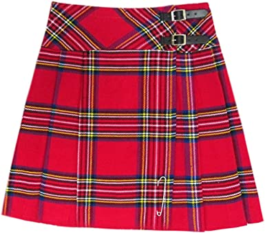 Tartanista - Kilt/Falda Escocesa hasta la Rodilla Mujer - 50 cm ...