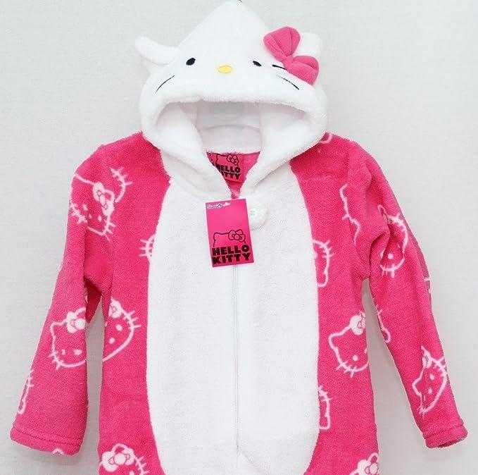 Pijama para niña Hello Kitty pijamas/Mono/disfraz/Onesie 3-13 años: Amazon.es: Bebé