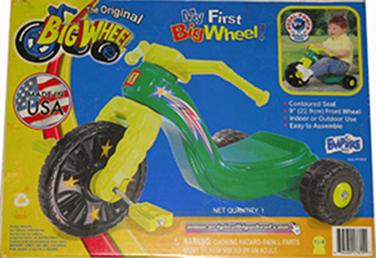Kids Only 9'' My First Big Wheel for Boys by Kids Only
