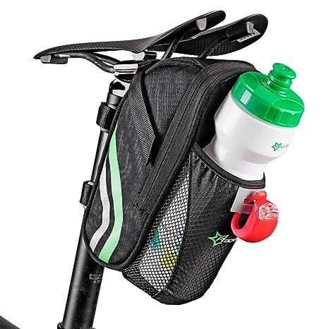 ROCKBROS Bolsa para Sillín de Bicicleta Resistente al Agua ...