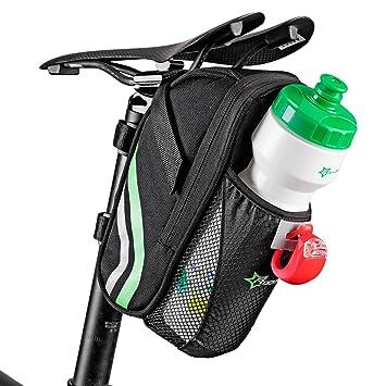 RockBros Bicicleta Bolsa de bicicleta Asiento funda pack ...