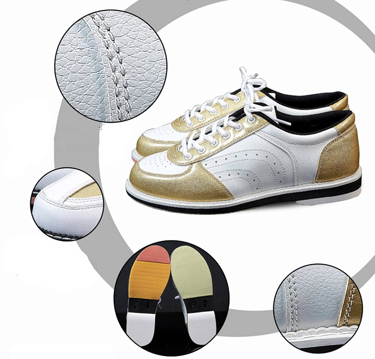 Womens Bowling Shoes Skidproof Sole Breathable Sneakers for Women