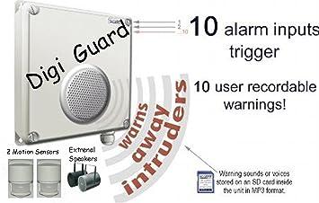 L4L - SENSOR de movimiento PIR OFF activada por Intruder de voz ...
