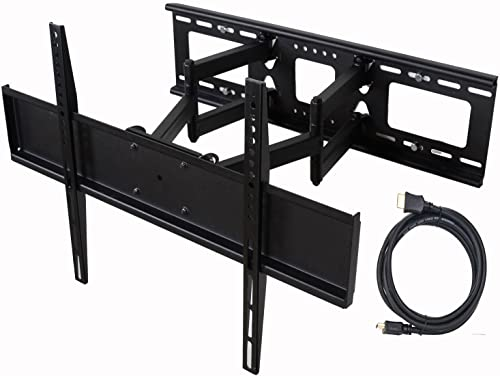 VideoSecu Full Motion TV Wall Mount for LG 47 50 55 60 65 70 75 LED TV 47LM8600 47LS4600 47LS5750 47LS5700 47CM565 50PM4700 50PM6700 50PM9700 50PA5500 50PA6500 55LM6400 55UB9500 55UB8500 55UB8300 C20