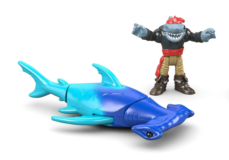 amazon com fisher price imaginext hammerhead shark toys u0026 games