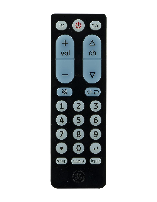 Ge Remote Access Amazoncom Ge 24991 3 Device Universal Remote Control Black