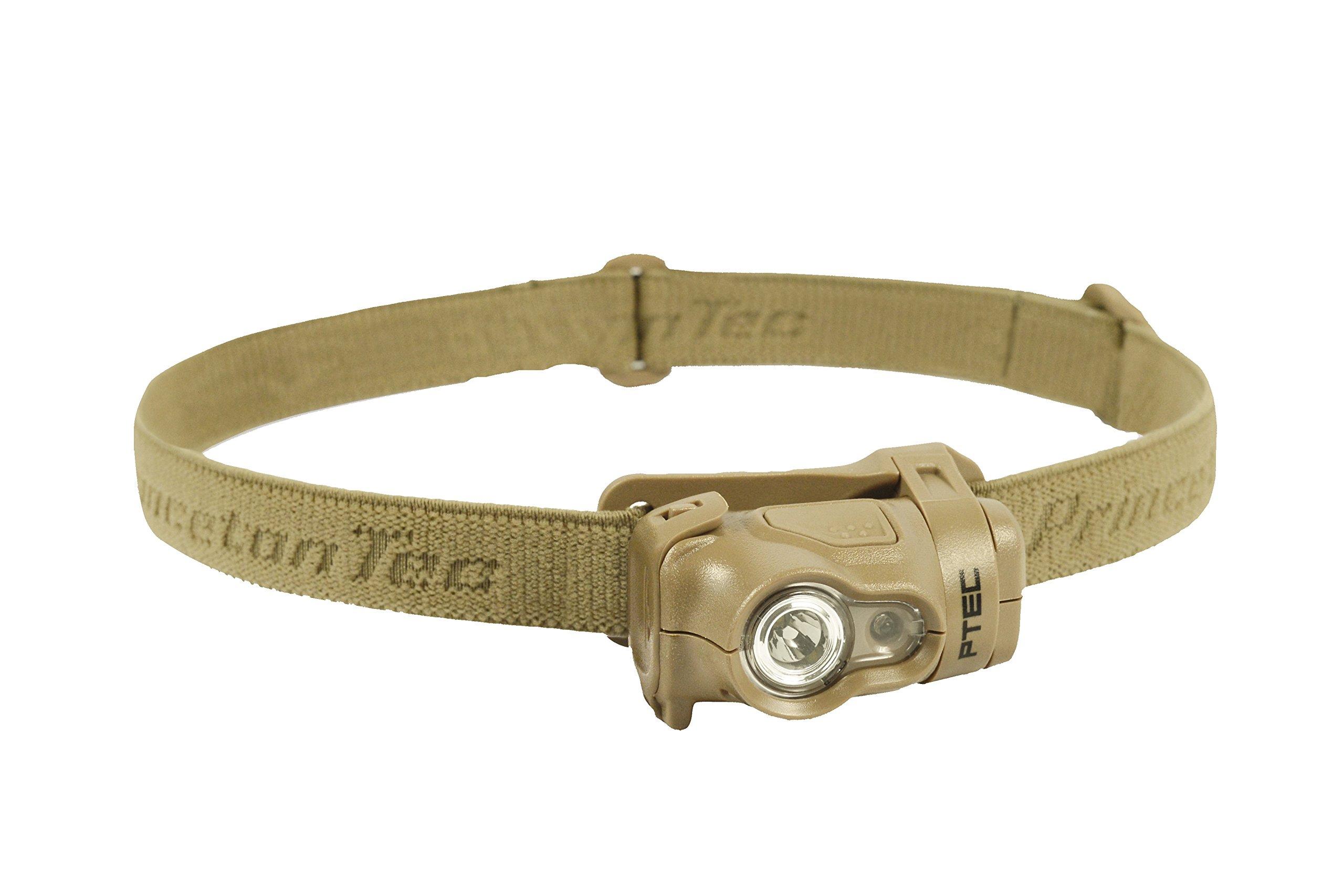 Princeton Tec Byte Tactical Headlamp (100 Lumens, Tan)