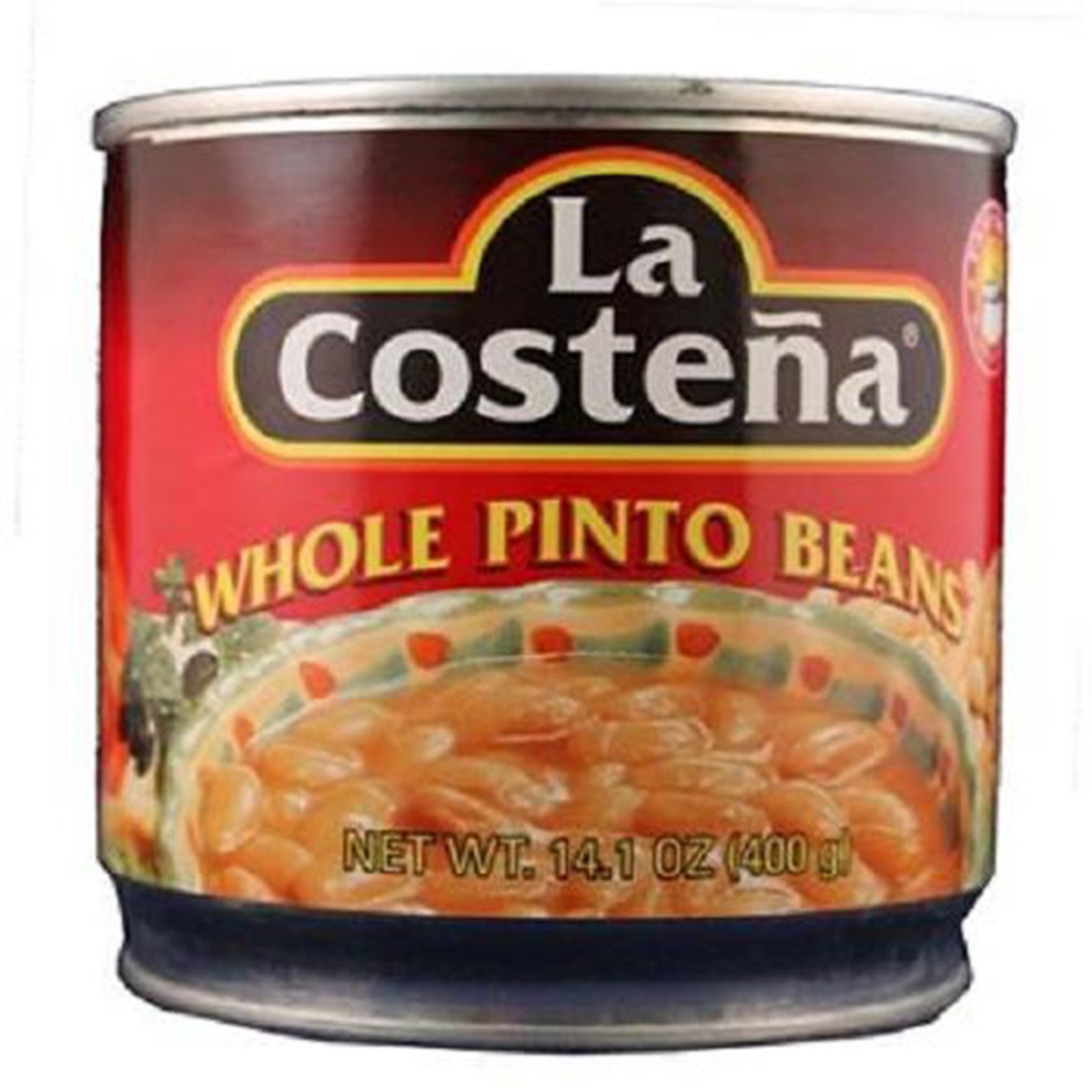 Product Of La Costena, Whole Pinto Beans, Count 1 - Mexican Food / Grab Varieties & Flavors