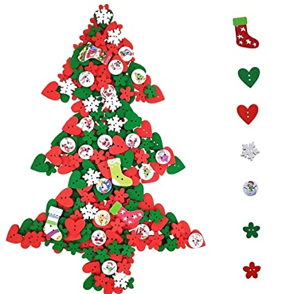 supla 300 pcs 80g wooden christmas buttons with 2 holes in a range of cute christmas - Christmas Buttons