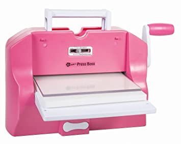 Nellies Press Boss - Máquina eléctrica de troquelado y estampado: Amazon.es: Hogar