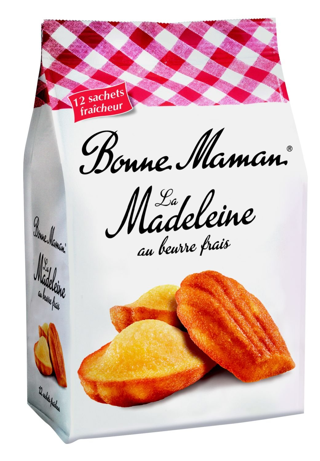 French Madeleines Tradition Bonne Maman-Madeleines Tradition Bonne Maman-2 Bag Pack