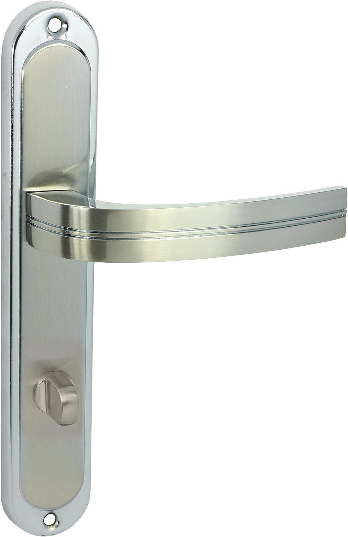 DOMINO T/ÜRGRIFF DEKAN M6//M9 CHROM-NICKEL WC-BAD 78