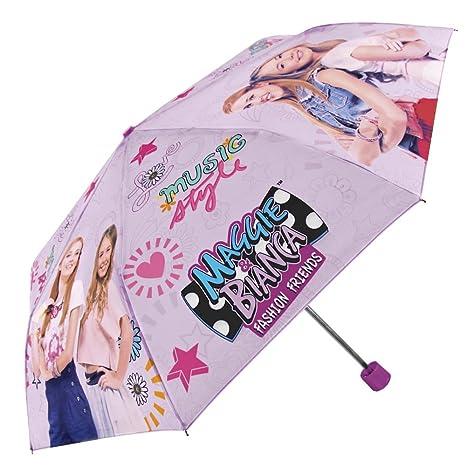 Perletti - Maggie e Bianca Fashion Friends - Ombrello bambina e ragazza  mini antivento - Ombrello 154e4b9aa696