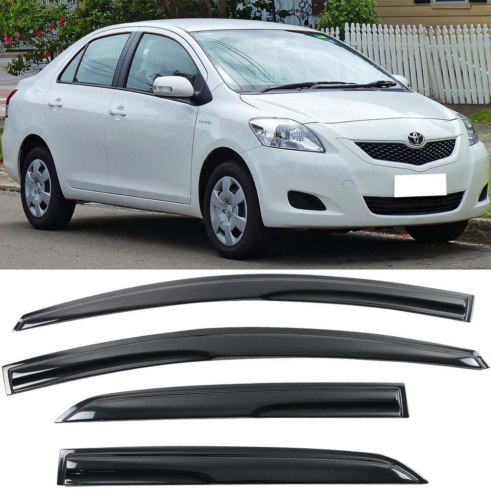 Amazon.com  Window Visor fits 2007-2011 Toyota Yaris Sedan  61c8d7b8b1e