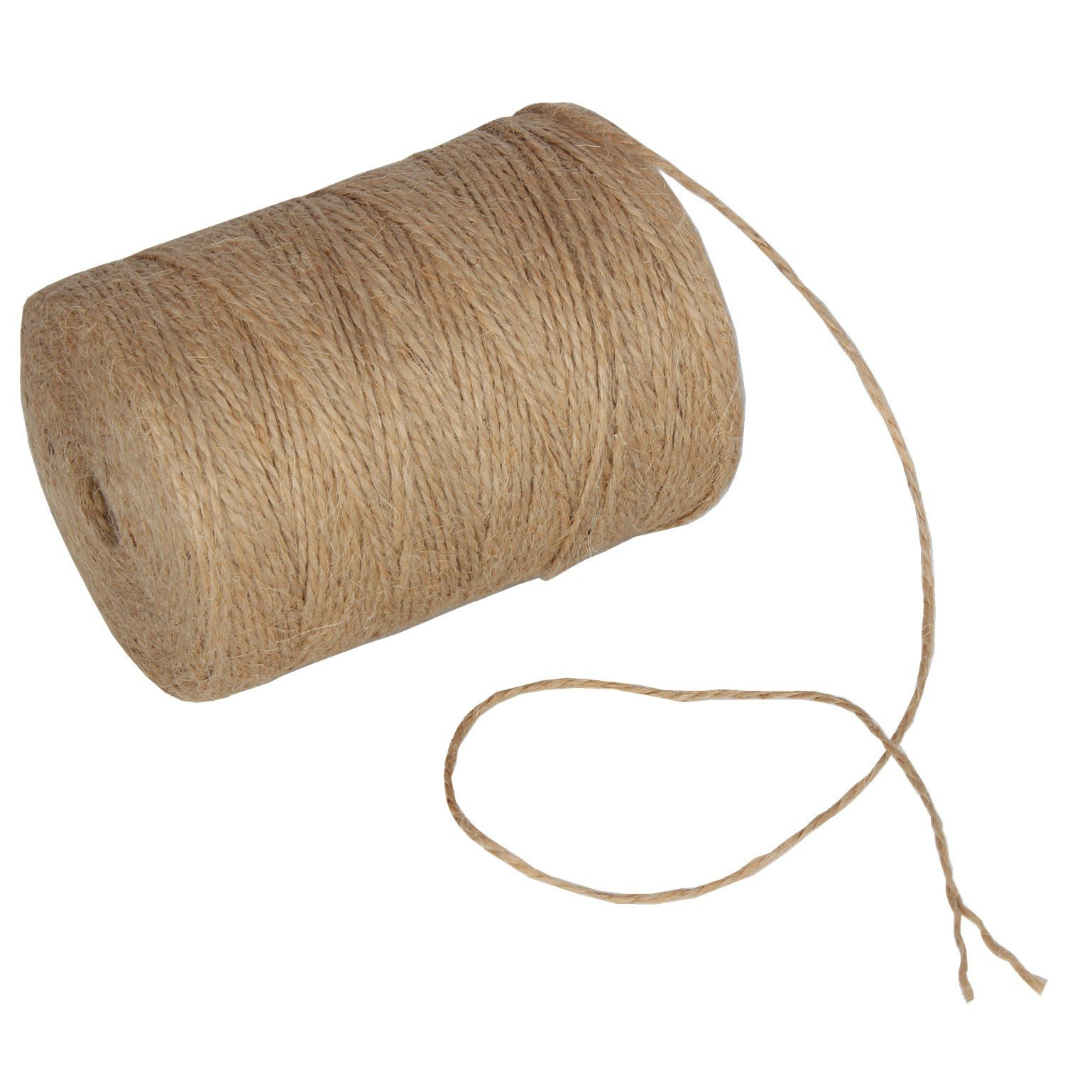 984 Feet Natural Jute Twine Hemp String Christmas Twine String Packing Materials Durable Twine for Gardening