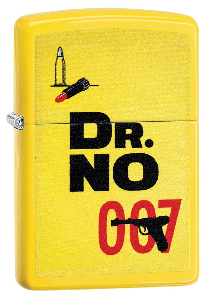 Zippo James Bond Dr. No 007 Pocket Lighter