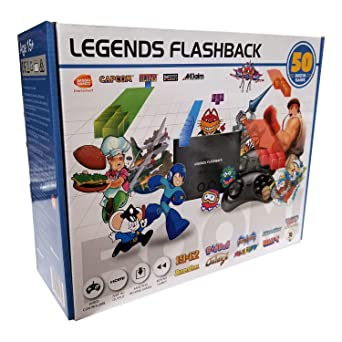 Legends Flashback Boom! Plug/Play HDMI Console [ATGames]: Not