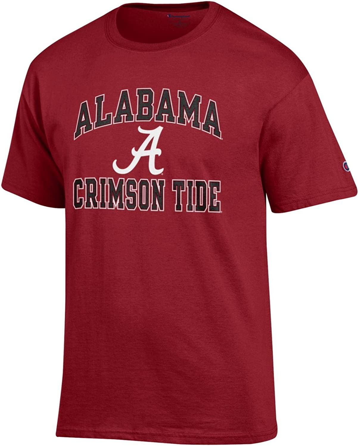 Champion NCAA Mens Shirt Short Sleeve Officially Licensed Team Color Tee