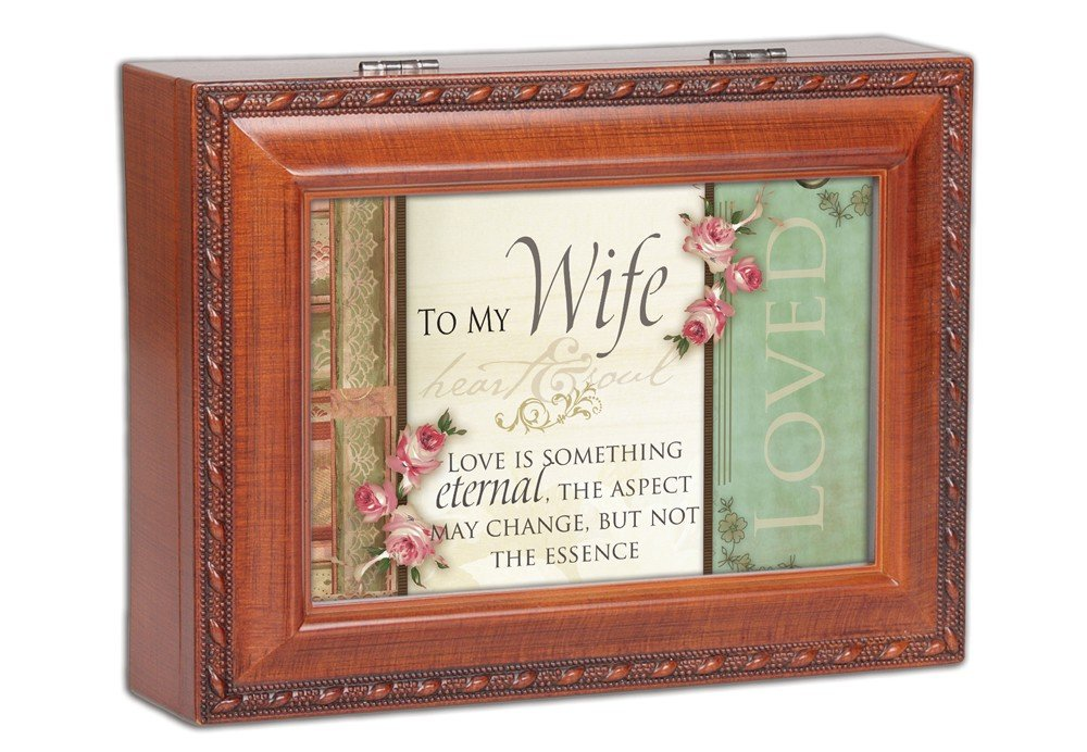 To My Wife Music Jewelry Box