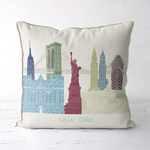 akingstore New York City Skyline Regalo de Viaje New York ...