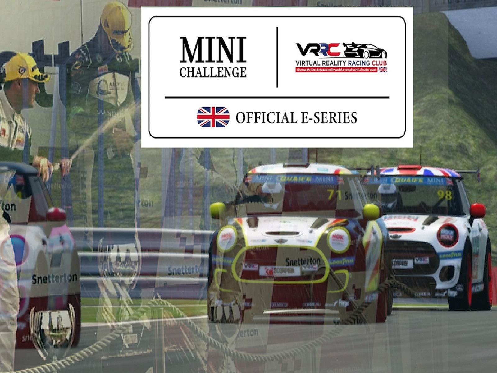 Mini Challenge E Racing Series on Amazon Prime Video UK
