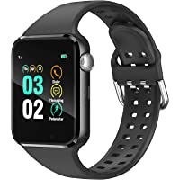 Smart Watch Compatible iPhone iOS Samsung Android for Men Women Kids - Touchscreen Bluetooth Smartwatch Wrist Watch…